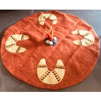 Noongar Felted Campfire Play Mat