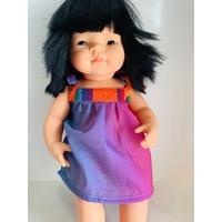 Colourful Doll Dress Shoulder Tie