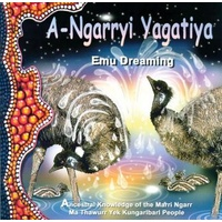 Emu Dreaming Book & Audio CD