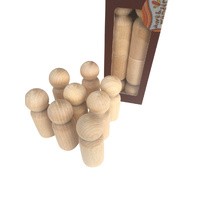 Peg Doll 6cm Set 8
