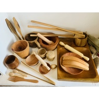 Homeschool Wood loose parts bargain bundle SAMPLE