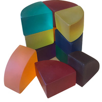 Resin Froebel Curvilinear Blocks