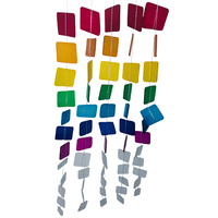 Rainbow Cascading Mobile Wind Chime