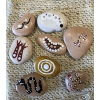 Indigenous Story Stones: Noongar Animals Of The Waterhole