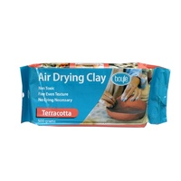 Air Drying Clay 500gms Terracotta