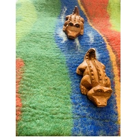 Crocodile Pair on Fitzroy river felt playscape