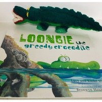 Loongie the Greedy Crocodile Set