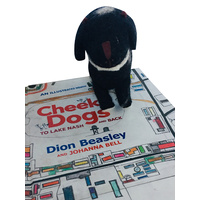 Cheeky Dogs : To Lake Nash and Back With Felt Cheeky Dog