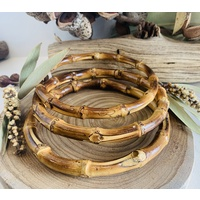 Bamboo Cane Rings Set 3