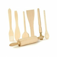 Wooden Utensils Set of 7