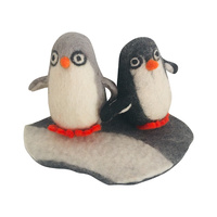 Penguin Couple on Ice Field Playscape