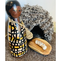 Possum Coat Peg Doll Welcome to Country Set