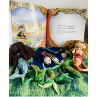 Two Mermaid Book Set Combo