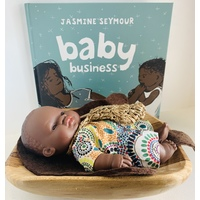 Baby Business and Boy Coolamon Set