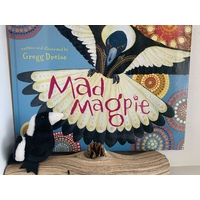 Mad Magpie and Magpie Finger Puppet