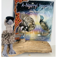 Emu Dreaming Book and Baby Emu Plush