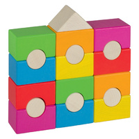 Rainbow House Stacking Tower