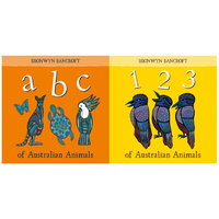ABC & 123 of Australian Animals Book Pack