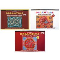 Dreamtime Art Book Series Set Of 3