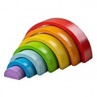 Wooden Rainbow Stacker - Small