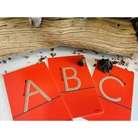 Sandpaper Letter Cards - Uppercase & Lowercase