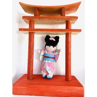 Cultural Dolls 16cm Boy & Girl Set - Japanese